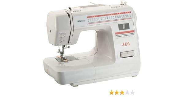 AEG NM 885 - Máquina de Coser: Amazon.es: Hogar