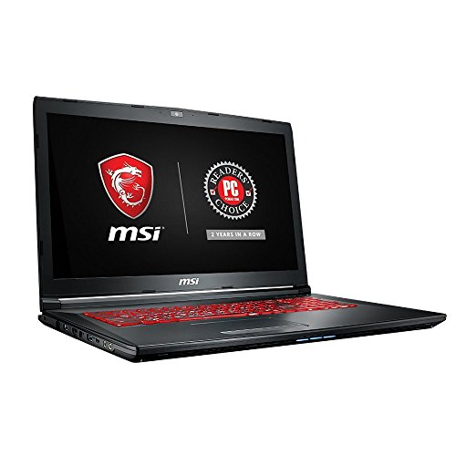 "MSI GL72M 7RDX-1218 17.3"" Performance Thin Bezel Gaming Laptop i7-7700HQ GTX 1050 2G 16GB 128GB SSD+1TB SteelSeries Red KB"