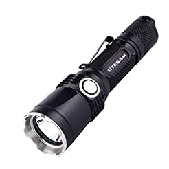 Tactical Flashlight Rechargeable with Po...