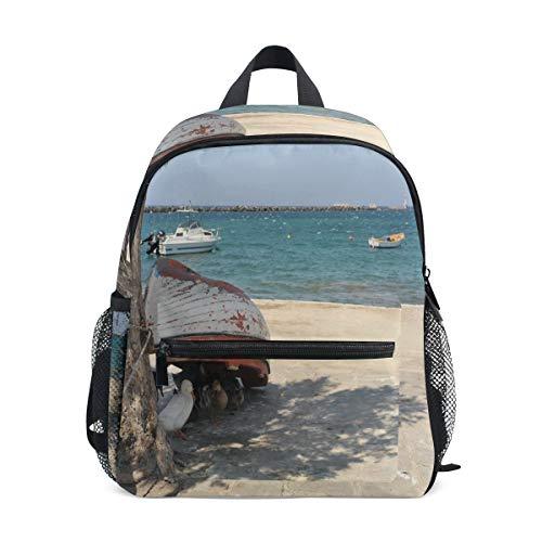 Mini Backpack Ducks Siesta Timr Noon Time Hot Summer School Bag Daypack Lightweight ()