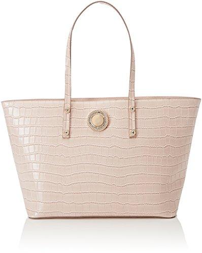 Versace Damen Linea O Schultertasche, 13x27x45 cm Rosa (Rosa Intimo)