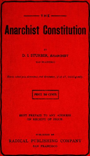 The Anarchist Constitution