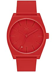 adidas Watches Process_SP1. Silicone Strap, 20mm Width (All Red. 38 mm).