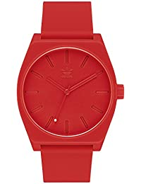 Watches Process_SP1. Silicone Strap, 20mm Width (All Red....