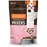 Instinct Freeze Dried Raw Boost Mixers Grain-Free Skin & Coat Health Recipe Dog Food Topper by Nature's Variety, 5.5 oz. Bag
