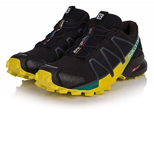 Zapatillas De Trail Running Salomon Hombres Speedcross 4 Negro / Everglade