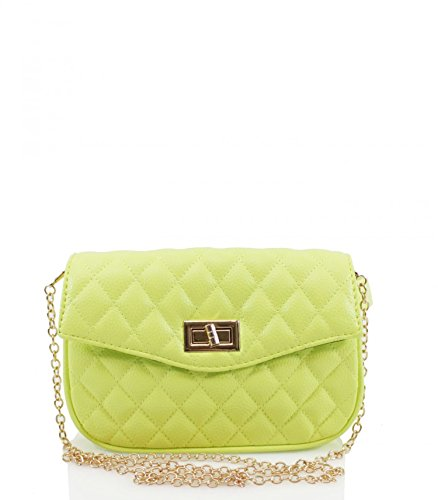 Chain Handbags Party Body LeahWard Bag Green 673 Women's Shoulder Belt Velvet Quilted Strap For Cross Bag 0SxqtBqaw