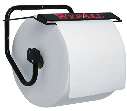 Jumbo Roll Holder (Wall Mounted Dispenser for Wypall and Kimtech Wipes (80579), Jumbo Roll,)