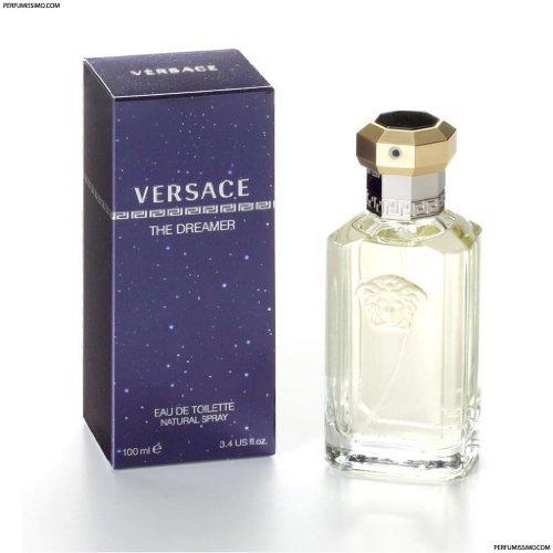 Uniquely For Him DREAMER by Versace Eau De Toilette Spray 3.4 - For Versace Him