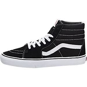 Vans Sk8 Hi Shoes 9.5 B(M) US Women/8 D(M) US Black