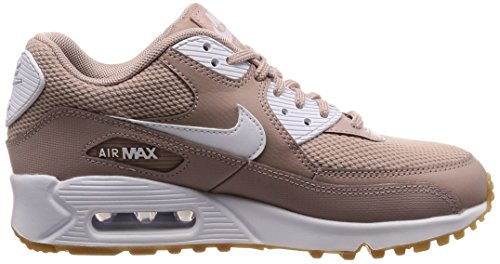 Donna Multicolore Air Max White Gum Diffused NIKE Scarpe 210 90 Running Brown Light Taupe XYwqBU