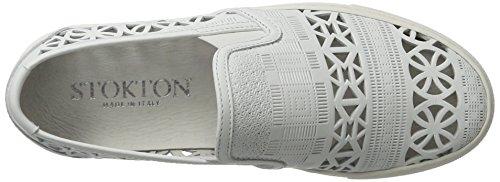 Stokton 541-d, Scarpe da Ginnastica Basse Donna bianco