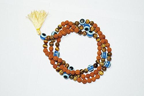 Mogul Intérieur 108 Chapelet bouddhistes, tibétain Collier Mala , Healing Pierres , Chakra Bijoux pour la méditation ..