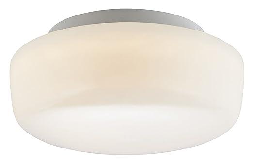 zeitgenssisches opal wei§es glas ip44 led badezimmer deckenleuchte