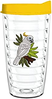 product image for Smile Drinkware USA-COCKATIEL 16oz Tritan Insulated Tumbler With Lid and Straw