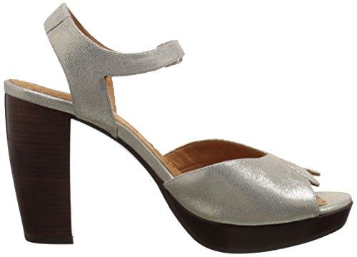 Chie Mihara Donna Antra Vestito Sandalo Platino