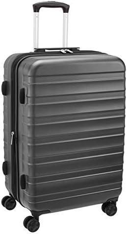 """Amazon Basics 24"""" ABS Luggage, Grey"""