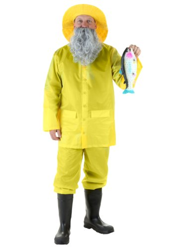 Adult Fisherman Costume X-Large