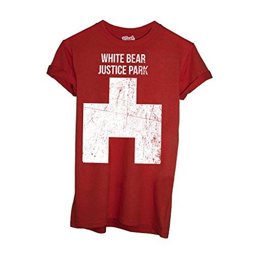 T-Shirt Black Mirror White Bear - FILM by Mush Dress Your Style