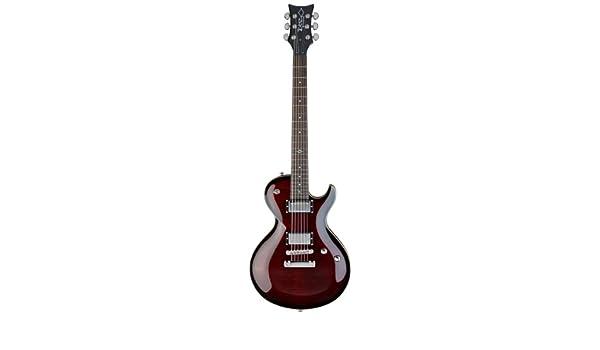 DBZDiamond Guitars BOLFM3-TRU Bolero FM Guitarra eléctrica, Trans Ruby: Amazon.es: Instrumentos musicales