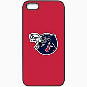 Personalized Case For Ipod Touch 4 Cover Cell phone Skin Nfl Houston Texans 4 Sport Black
