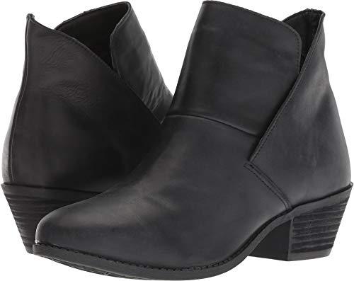Me Too Women's Zena14 Bootie Black Cow Dandy Leather