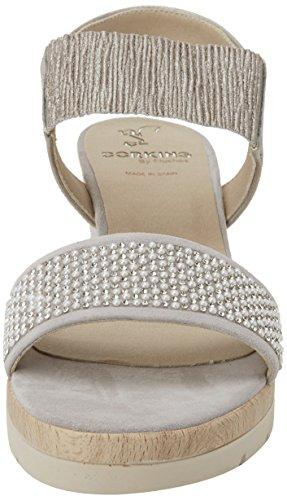 Grey Asola Grey Toe Open Sandals Fluchos Women's wTR5X
