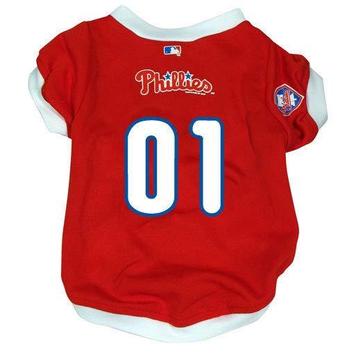 Hunter Philadelphia Phillies Dog Cat Baseball Jersey ()
