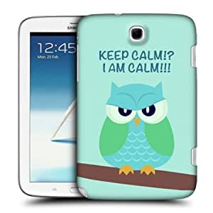 Bloutina Head Case Green Wing Mean Owl Back Case Cover For Samsung Galaxy Note 8.0 N5100