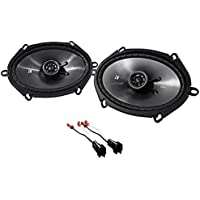 1998-2011 Ford Crown Victoria Kicker Front Factory Speaker Replacement Kit