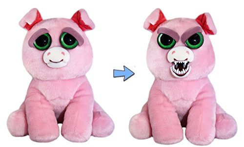 Feisty Pets: Suzie Swearjar Adorable 8.5 Plush Stuffed Pig That Turns Feisty With A Squeeze