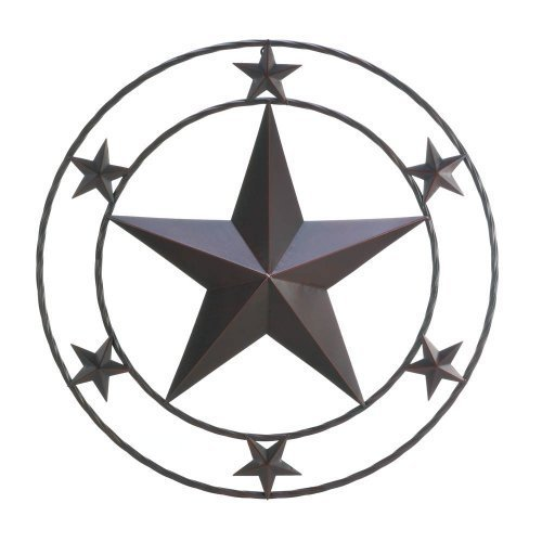 Zingz and Thingz Texas Star Wall Decor