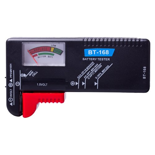 Flexzion Universal Battery Tester Volt Checker Load Test for