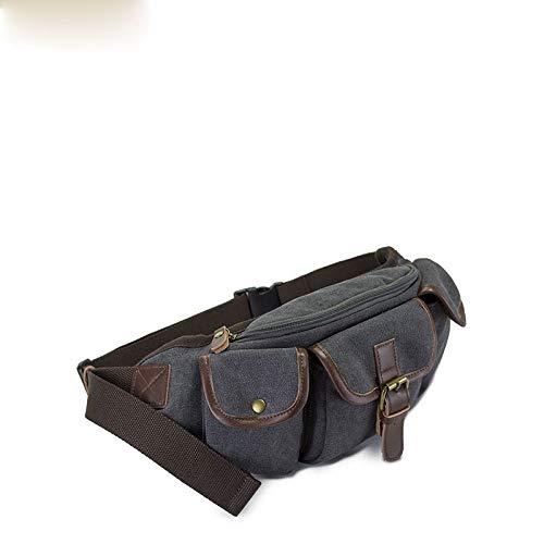 58a608ce4 Bolsa de Viaje de Dinero de Vacaciones Holiday Sat Lienzo Delgado y  Resistente a la Cintura Paquete de Bolsas para Hombre Mujer al Aire Libre  Corriendo ...