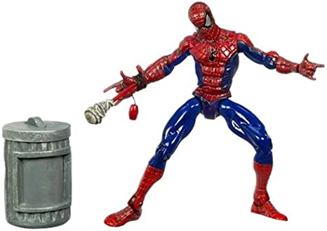MARVEL SPIDER-MAN ORIGIN MAGNETIC SHOOT /& GRAB ACTION TOY NEW POSABLE FIGURE