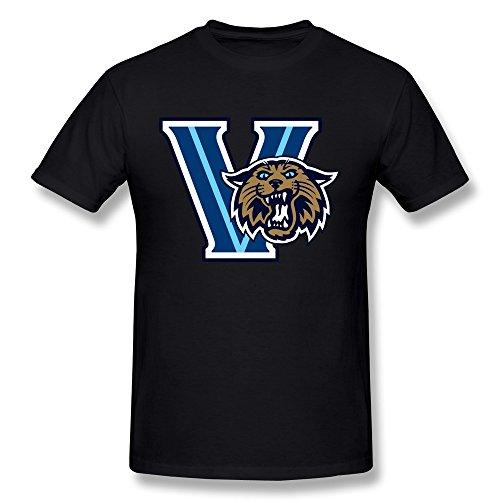 Losnger Men's Villanova Wildcats Sports Logo T Shirt S (Cat Suite)