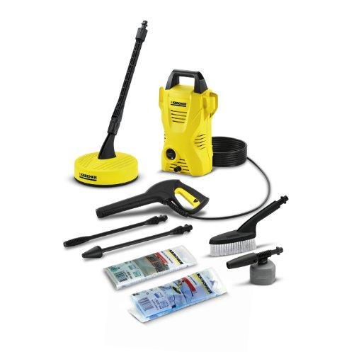 Kã¤rcher K2 Compact Car & Home Pressure Washer, 110 Bar Pressure (Karcher K2 Home And Car Pressure Washer)