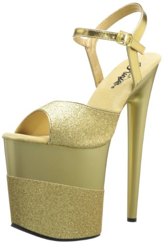 Pleaser-Womens-Flamingo-809-2G-Ankle-Strap-Sandal