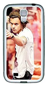 iCustomonline Case for Samsung galaxy S4 (TPU), Harry Styles Stylish Durable Case for Samsung galaxy S4 (TPU)