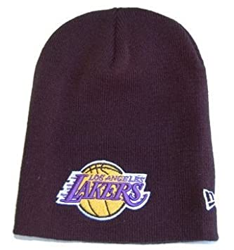 Amazon.com   New Era NBA Beanie - Los Angeles Lakers - Black ... 238230ac210