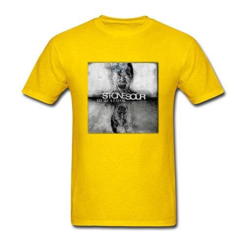 KS8HQ Men's Stone Sour Print T Shirts