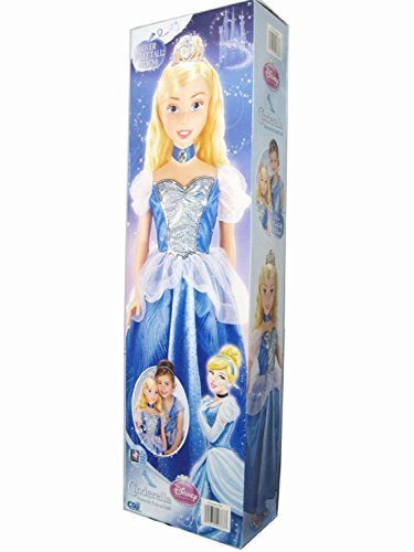 Fairy Tale Friends Tiara (Disney Cinderella Fairytale Friend Doll - Over 3 Feet Tall)