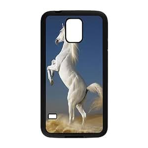 HQYDIY Customised horse Plastic Case, Personalised horse Hard Cell Phone Case for samsung galaxy s5 I9600