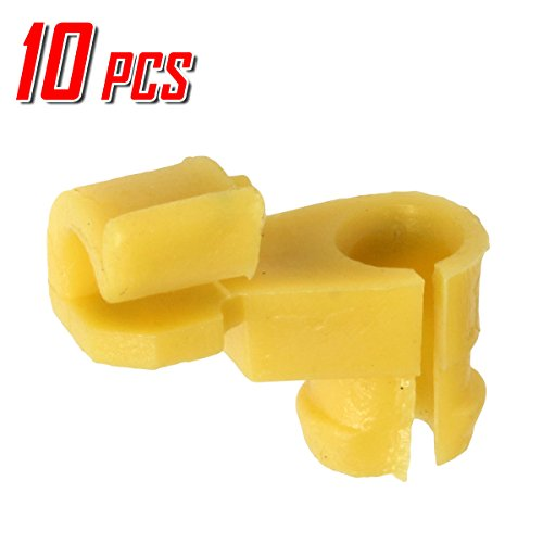 Lock Door Clip (10 Door Lock 5mm Rod Clip Driver Side Handle Retainer for Toyota)