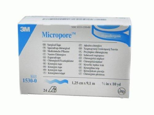 3M Micropore Paper Tape - White, 1/2