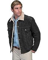 Scully Men's Sherpa Lined Boar Suede Jacket