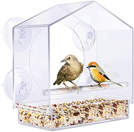YUT Removable Weatherproof Transparent Birdhouse product image