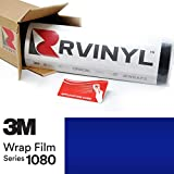 3M 1080 G378 Gloss Blue Raspberry 5ft x 8ft W/Application Card Vinyl Vehicle Car Wrap Film Sheet Roll