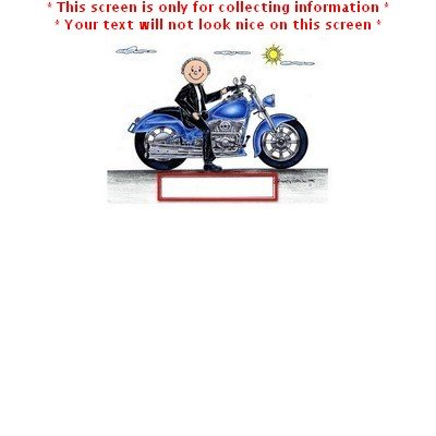Personalized Motorcycle - Male Friendly Folks Christmas Ornament
