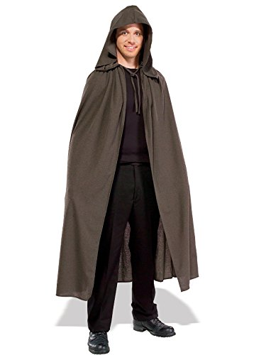 Rubie's Men's Lord of The Rings Adult Elven Cloak, Brown, Standard -